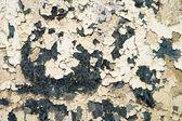 汚れた腐食性金属背景上の古いペイント — ストック写真