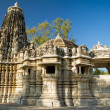 Stock Photo: Ancient Sun Temple in Ranakpur, Rajasthan, India