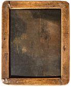 Vintage ugasić tablica na białym tle — Zdjęcie stockowe