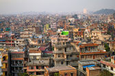 Top view of Kathmandu, Nepal — Stock Photo