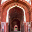 Stock Photo: Mosque at Taj Mahal. Agra, Uttar Pradesh, India