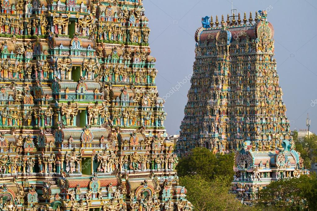 Meenakshi Temple India Madurai India March 3 Meenakshi Temple One of The Biggest And Oldest