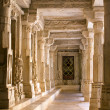 Stock Photo: Chaumukhtemple in Ranakpur, Rajasthan, India