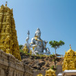 Stock Photo: Statue of Lord Shivin Murudeshwar Temple in Karnataka, India