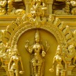 Stock Photo: Detail of Hindu temple in Murudeshwara, Karnataka, India