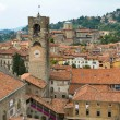View of the upper city center of Bergamo, Lombardy, Italy — Foto Stock