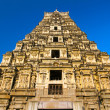 Stock Photo: VirupakshTemple in Hampi, Karnataka, India