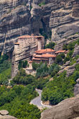 The Holy Monastery of Rousanou (St. Barbara) at Meteora — Stock Photo