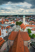 View of Munich city center. Munchen, Germany — Stock Photo