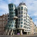 Dancing house building in downtown Prague, Czech Republic — Stock Photo