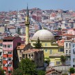Istanbul downtown city view — Stock Photo
