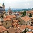 View of the upper city center of Bergamo, Lombardy, Italy — Stock Photo