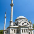 Stock Photo: ISTANBUL, TURKEY - JULY 30: Dolmabahce Mosque on July 30, 2013 i
