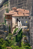The Holy Monastery of Rousanou (St. Barbara) at Meteora, Trikala — Stock Photo