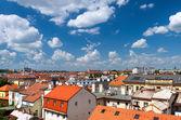 プラハ、チェコ共和国 - 都市の新しい部分。vysehra からの眺め — ストック写真