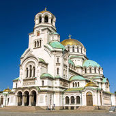 The St. Alexander Nevsky Cathedral in Sofia, Bulgaria — Stock Photo