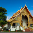 Wat Phra Singh Woramahaviharn temple in Chiang Mai, Thailand — Stock Photo #37573503