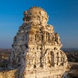 Stock Photo: Ruins of ancient temple in Hampi, Karnataka, India