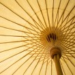Stock Photo: Thailand traditional bamboo umbrella