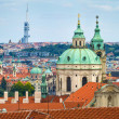 Stock Photo: Stare Mesto (Old Town) view, Prague, Czech Republic