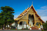 Wat Phra Singh Woramahaviharn temple in Chiang Mai, Thailand — Stock Photo