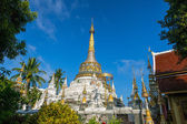 Pagoda at Wat Saen Fang temple in Chiang Mai, Thailand — Stock Photo