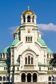 The St. Alexander Nevsky Cathedral in Sofia, Bulgaria — Stockfoto
