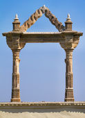 Archway at the City Palace in Udaipur in Rajasthan — Stock Photo