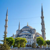 The Blue Mosque (Sultanahmet Camii), Istanbul, Turkey — Stock Photo