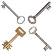 Old metal keys — Stock Photo