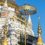 Постер, плакат: Stupa at Wat Saen Fang temple in Chiang Mai Thailand
