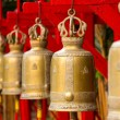 Bells in a buddhist temple of Thailand — Stock Photo #38475905