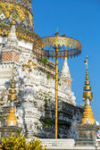 Stupa at Wat Saen Fang temple in Chiang Mai, Thailand — Stock Photo