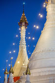 Wat Phra That Doi Kong Mu temple stupa in Mae Hong Son — Stock Photo