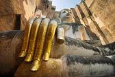 статуя будды в ват шри чум — Стоковое фото