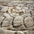 Wall bas-relief in Angkor Wat — Stock Photo #45962055