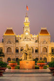 The City Hall in Ho Chi Minh City — Stock Photo