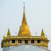 Golden mountain pagoda — Stock Photo