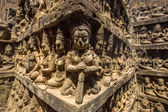 Apsaras stone carvings — Stock Photo