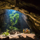 Royal pavilion in the Phraya Nakhon Cave — Stock Photo