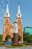 Saigon Notre Dame Basilica in Ho Chi Minh City, Vietnam — Stock Photo