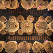 Spiral incense in  temple of Ho Chi Minh — Stockfoto