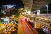 Traffic  in Bangkok — Stockfoto