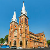Saigon Notre Dame Basilica — Stock Photo