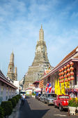 Street near Wat Arun — Stock Photo