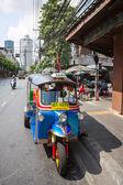Tuk-tuk moto taxi — Stock fotografie