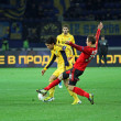 Metalist Kharkiv vs Bayer Leverkusen match — Стоковая фотография