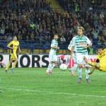 Metalist Kharkiv vs Rapid Wien football match — Stock Photo #24649923