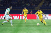 Metalist Kharkiv vs Rapid Wien football match — Stock Photo