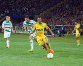 Metalist kharkiv vs rapid wien fútbol — Foto de Stock